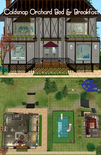 Coldsnap Orchard Bed & Breakfast Layout