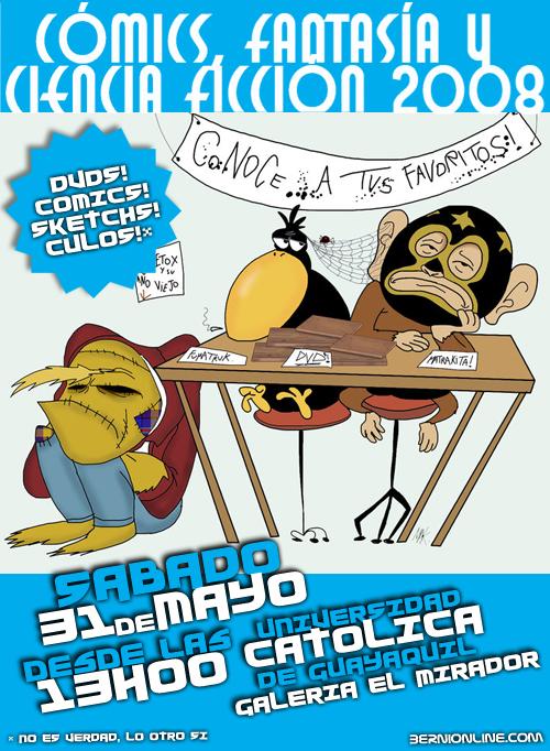 Poster Expo Comics 2008