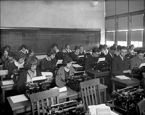 Eastern High Typing Class