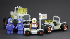All Together Now (billyburg) Tags: lego classic space rover febrovery willys jeep lunar moon