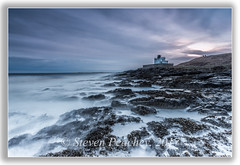 Foamy Sea (Steven Peachey) Tags: northumberland northeastcoast northeastengland sea sky canon6d ef1740mmf4l lee09gnd 6stopndfilter rocks le exposure manfrotto stevenpeachey leefilters longexposure morning
