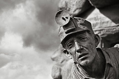 Economic Bravery (andertho) Tags: statue delete10 delete9 delete5 delete6 delete7 delete8 delete3 delete4 save wyoming coal wy coalminer rocksprings coalminerstatue