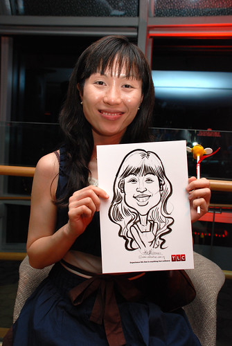 Caricature live sketching for TLC - 30