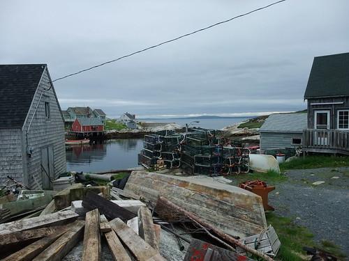 Peggy's Cove traps
