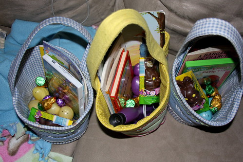 Easter Baskets 2011