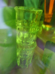 shot glasses with green tint (VPE-) Tags: green glasses pub shot empty tint shotglasses greentint