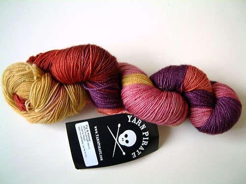 Yarn Pirate- Fig & Honey