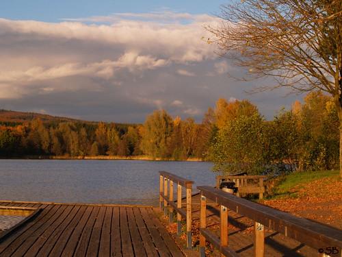 Herbststimmung in Kell am See (Deutschland)