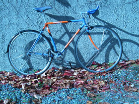 Ian Bickis' fixed gear bike