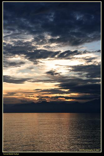 Sunset Belek Turkey 3
