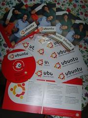 I miei CD di Ubuntu ShipIt!