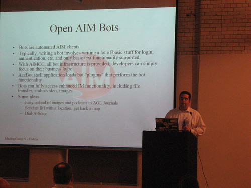 Presenting on Open AIM Bots