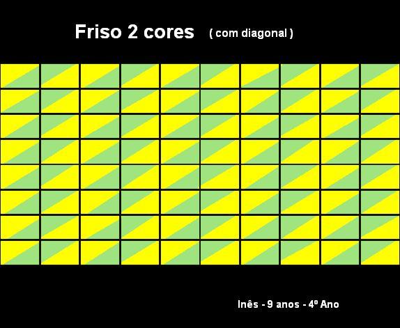 Inês friso com diagonal
