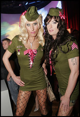 US Army Special Force (Sheila Wolf) Tags: army us dragqueen wintergarten transe