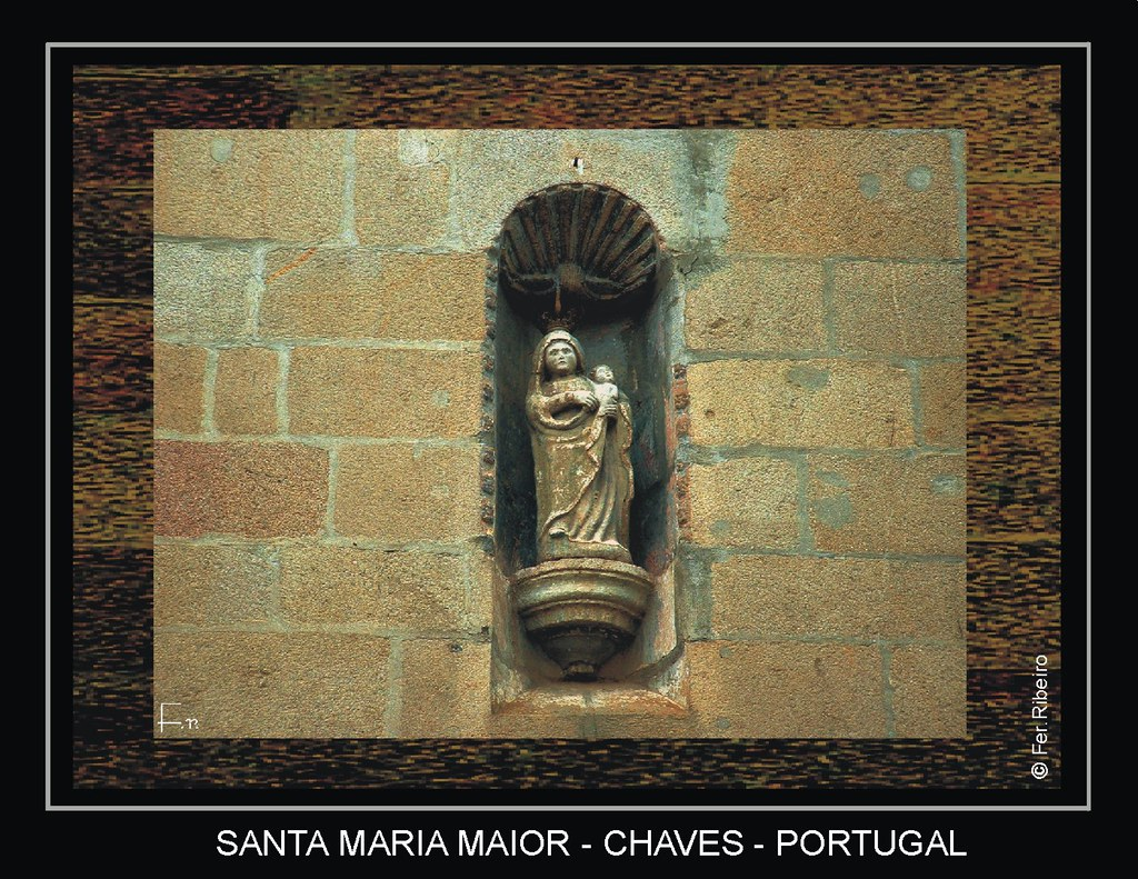 Imagem de Stª Maria Maior, Padroeira de Chaves