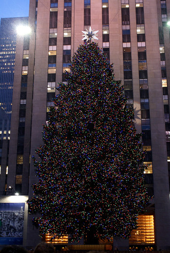The Tree at Rockefeller Center.