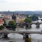 Prague: Vltava River and Bridges