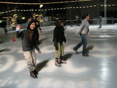 Ice Skating in Santa Monica III