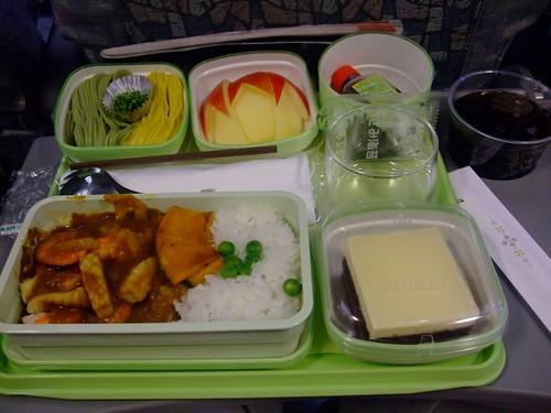 長榮飛機餐-咖哩海鮮