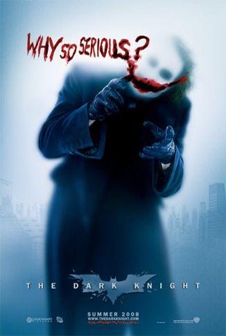Poster the dark knight Joker Batman