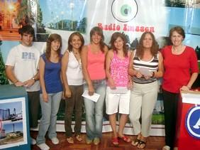 Juan Pablo-Julia-Karina premiados,Vanina-Natalia-Maria Arcelia-Liliana Ctro. Empleados de Comercio