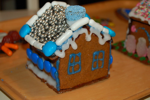 The Blue Gingerbread House