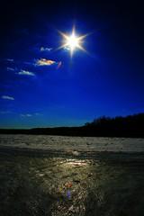 Blinded By The Light (Whisperawish) Tags: winter light sun snow ice landscape star rainbow perfect glow photographer shine blind vibrant mywinners impressedbeauty wrappeduplikeawha monthlythemegroupmar08