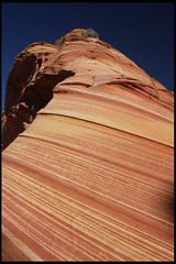 """The Wave"" (rickz) Tags: travel color beautiful beauty landscape utah ut sandstone scenery colorful hiking roadtrip hike 2007 kaleidoscopic thewave rockformation pariacanyon coyotebuttes grandcircle vermilioncliffs aplusphoto vermilioncliffsnationalmonument swirlingstrata gcrt2007d9"