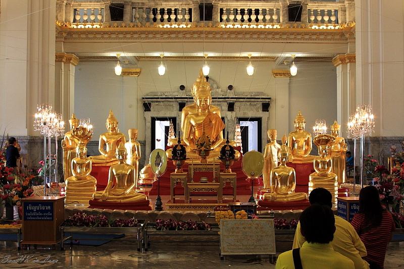 Buddha @ Wat Sothorn, Chacherngsao, Thailand
