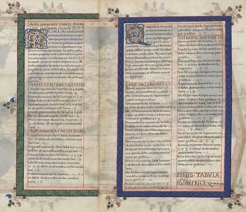 Ptolemy Cosmographia 1467 - Ethiopia text