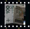 The banknote of 100 zloty - Polish national currency