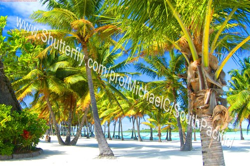 Aitutaki, Cook Islands. A very beautiful place.