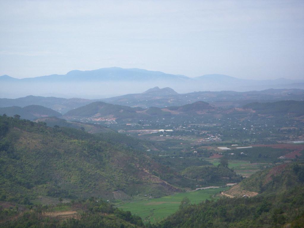 vistas de los alrededores de Dalat