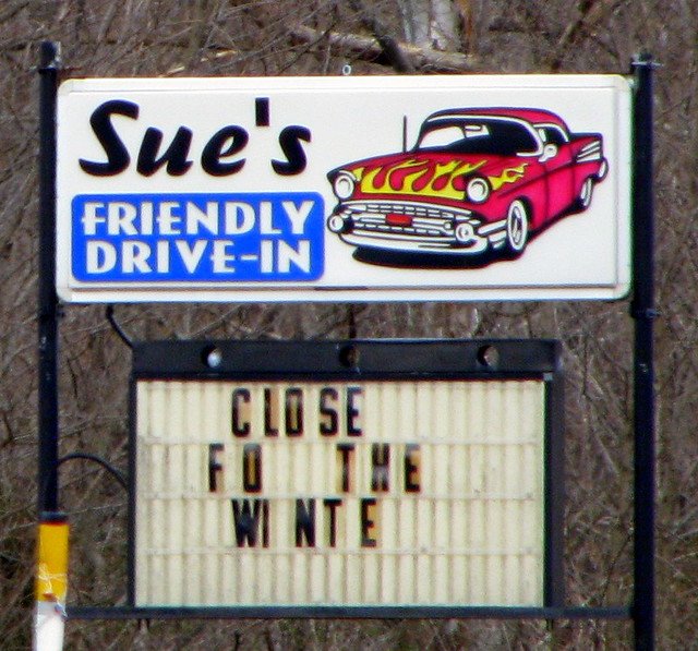 Sue's friendly Drive-in