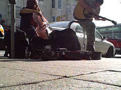Haight Street Buskers (fraying) Tags: sanfrancisco buskers haightst
