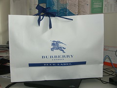 BLUE LABEL BURBERRY