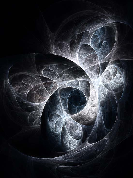 Fractal Art - Fractal Lattice by Nicholas M Vivian