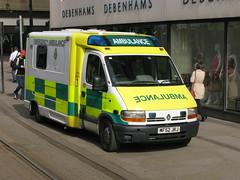 North West Ambulance Service MF52JKJ (Howard_Pulling) Tags: manchester ambulance renault northwestambulanceservice mf52jkj hpulling howardpulling