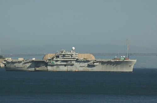 Strange Ship in SF Bay