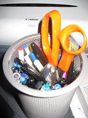 Pen Holder & Personal Finances