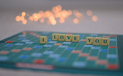 SCRABBLE Love.. (KissThePixel) Tags: scrabble board boardgame game fun havingfun bokeh softbokeh realbokeh macro macroanyday macroeveryday macrotuesday valentine valentinesday love romance romantic depthoffield dof 14 aperture creativeart creativephotography creative stilllife stilllifephotography nikondf sigma