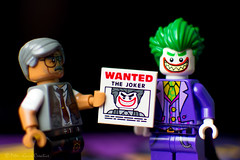 Nothing To See Here (Peter Gurr Creative) Tags: batman lego legobatman joker thejoker wanted gordon commisionergordon cop police criminal legobatmanmovie movie awesome dslr nikon d7200 18 18g capedcrusader caped crusader darkknight dark knight gotham gothamcity arrest vigilante dc dccomics comic comics comicbook book toy toyphotography photography bricks master builder masterbuilder clown prince crime clownprinceofcrime