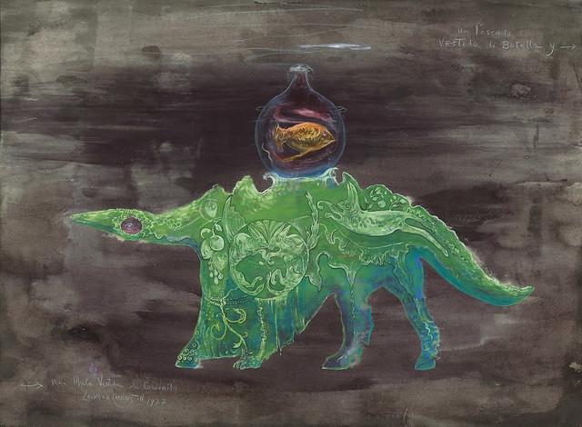 Leonora Carrington - Una mula vestida de cocodrilo