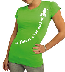 Tee-shirt le futur c'est moi !