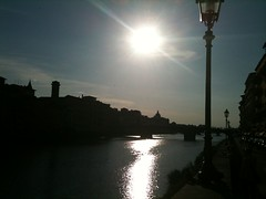 Arno late in the day