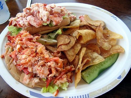 2 Lobster Rolls