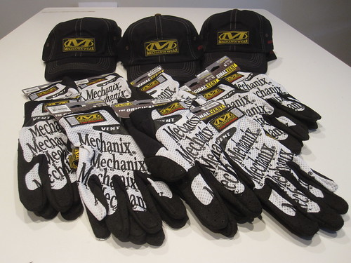 Mechanix Wear Gloves & Hats for AXIAL AWCC FInals 2011