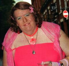 sparkle (yvonnematthews258) Tags: tv cd fat transvestite crossdresser cocksucker slutty openminded bigay
