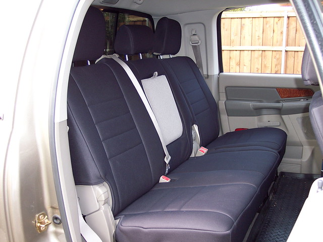 2006 dodge ram seatcover neoprene megacab wetokole customfit