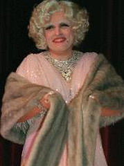 Rudy Giuliani in drag